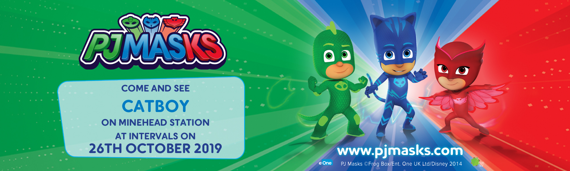 PJ Masks Meet and Greet Day
