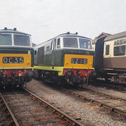 AFTER A GAP OF NEARLY 25 YEARS A VINTAGE DIESEL LOCOMOTIVE WILL RETURN TO WORKING LIFE ON THE WEST SOMERSET RAILWAY