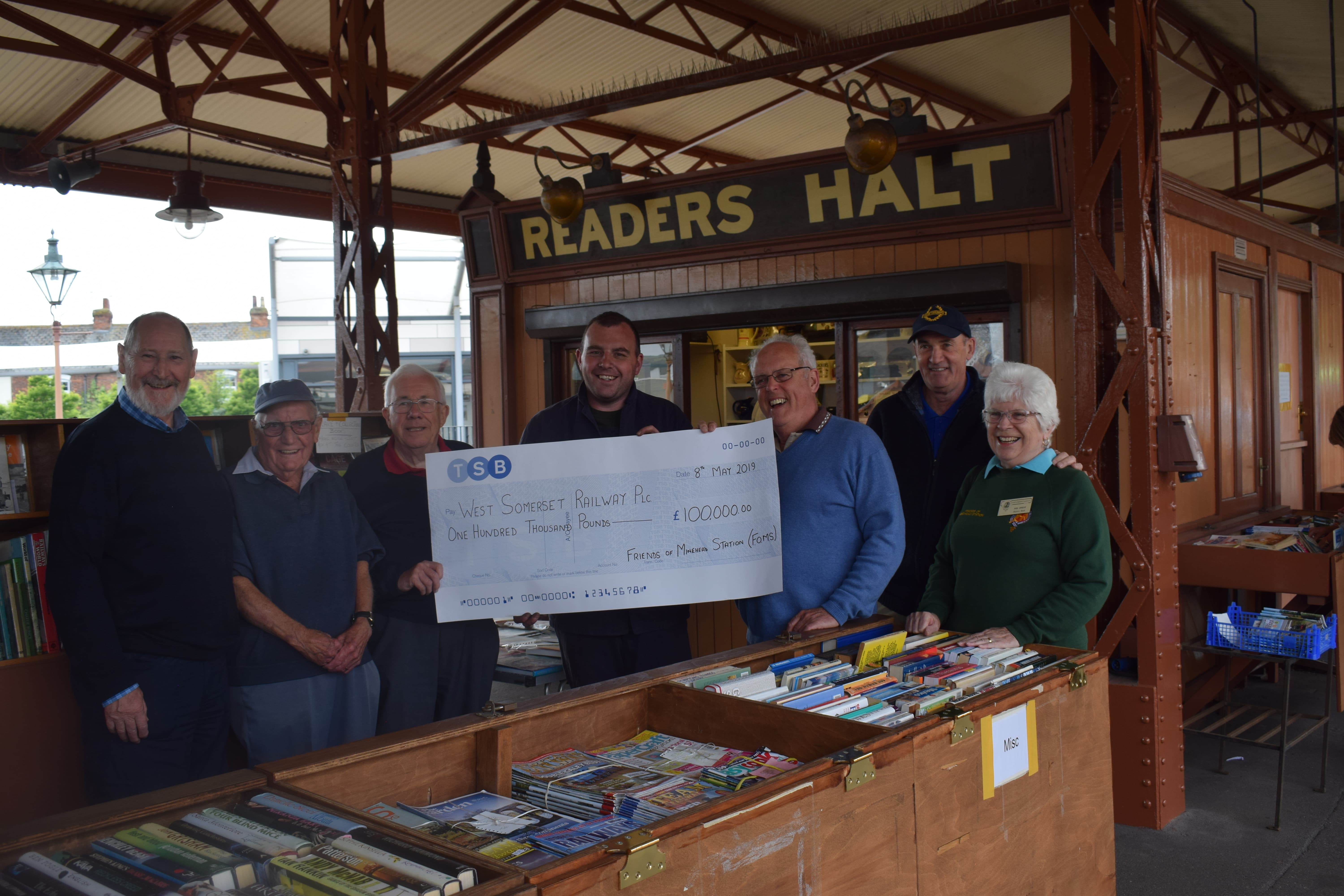 Friends of Minehead Station keeps the West Somerset Railway On Track