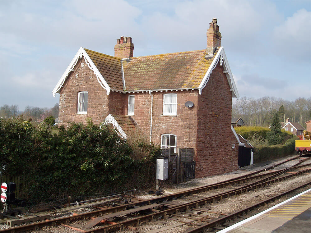 WEST SOMERSET RAILWAY, PURCHASE OF THE STATION HOUSE AT BISHOPS LYDEARD.