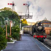 RAILWAY MEMORIES EVOKED AS THE WEST SOMERSET RAILWAY MARKS 40 YEARS              OF TRAINS RUNNING BETWEEN MINEHEAD AND BISHOPS LYDEARD