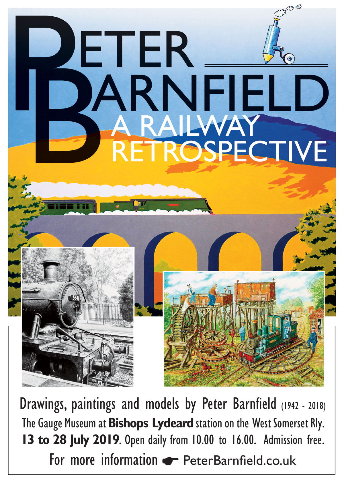 Peter Barnfield Exhibition 13th - 28th July