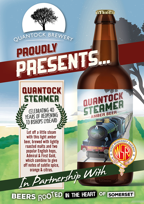 'QUANTOCK STEAMER' LAUNCHED
