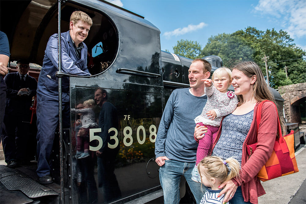 The West Somerset Railway Increase Passenger numbers in 2017