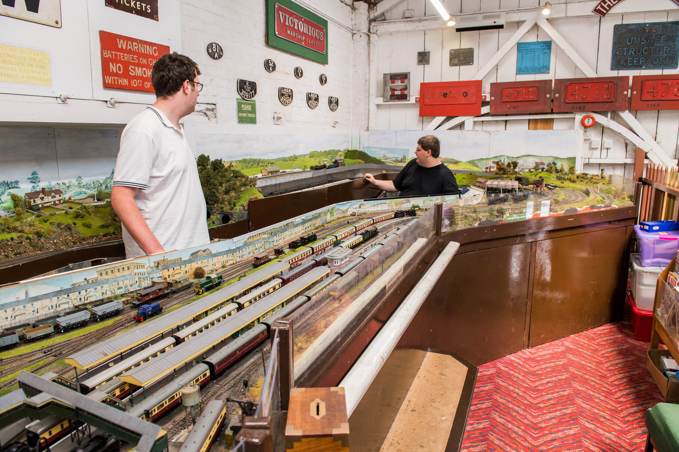 Days of opening for the Model Railway in the Gauge Museum